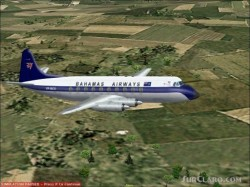 Fs2002 Aircraft Vickers Viscount 700 image 1