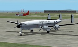 Fs2002 Vq-1 Super Constellation Textures image 1