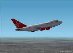 Fs2002 Virgin Atlantic Boeing 747sp Virgin image 1