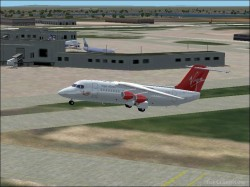 Fs2002 Virgin Atlantic Avro Rj85 Virgin Atlantic image 1