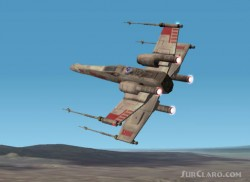 FS2002 - T-65 X-Wing Starfighter Red 5 image 1