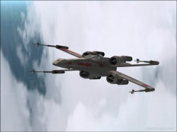 FS2002 - T-65 X-Wing Starfighter Red 5 image 2