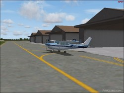 Fs2004 Warrington Flying Club scenery Hey image 1