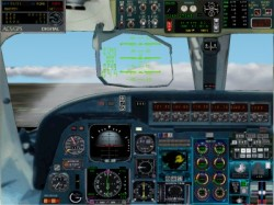 Fs2002 Aircraft Astra IAI Westwind II Mozambique image 1