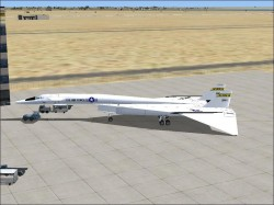 Massimo Altieri NASA North American XB-70 image 2
