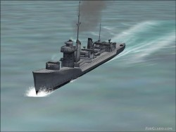 FS2004 - IJN Kagero Complete Update image 1