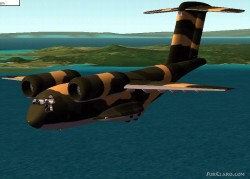 CFS2 Conversion and Textures repaint Boeing image 1