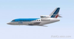 Fs2000 Dassault Falcon 900ex Klm/air France image 3