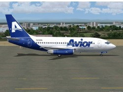 FS2004 Avior Airlines Boeing 737-2H4/Adv image 2