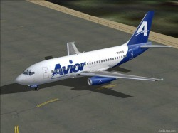 FS2004 Avior Airlines Boeing 737-2H4/Adv image 3