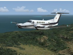FS2004 Private Beechcraft King Air B200 YV2319 image 1