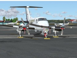 FS2004 Private Beechcraft King Air B200 YV2319 image 2