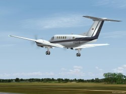 FS2004 Private Beechcraft King Air B200 YV2319 image 3