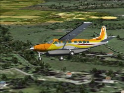 FS2004 Private Cessna 208B Grand Caravan YV4369 image 1