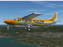 FS2004 Private Cessna 208B Grand Caravan YV4369 image 2