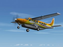 FS2004 Private Cessna 208B Grand Caravan YV4369 image 3