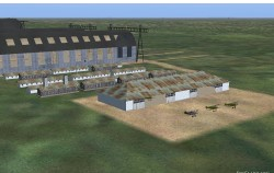 > FS2004 scenery German Zeppelin base Tondern image 2