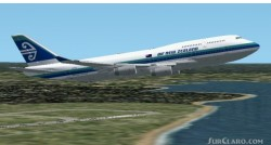 Fs2002 Air New Zealand Oc 747-400 V3 Project image 1