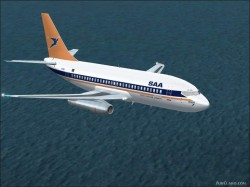 Yeodesigns Boeing 737-200 V2 Textures repaint image 1