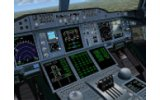 Airbus A380 Emirates Airlines    FSX image 1