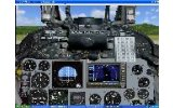 Photorealistic freeware FS2004 panel    Douglas image 1